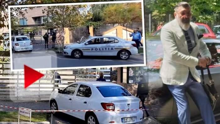 UPDATE / Casa milionarului Dan Nicorescu a fost spartă. Comunicatul oficial al poliției, după primele verificări. Imagini exclusive în timp real / VIDEO