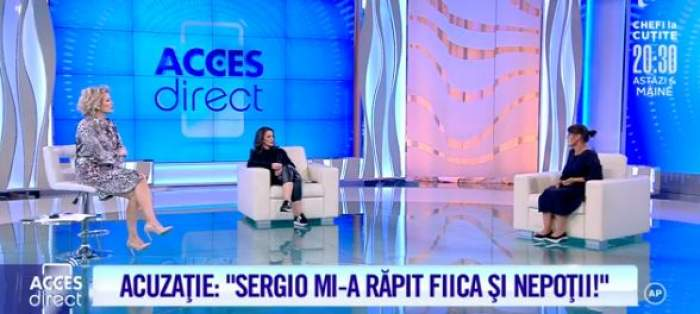 """Georgeta, mama Anei se află în platoul emisiunii""""Acces Direct"""""""