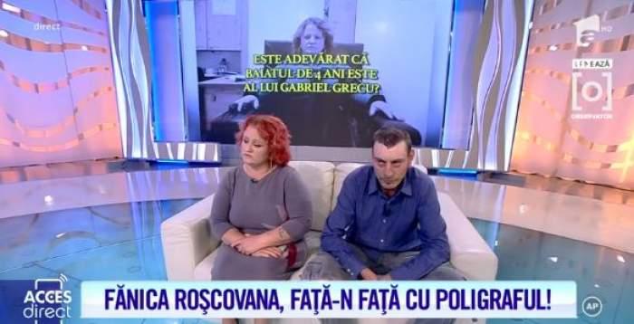 Fănica Roșcovana și soțul au auzit rezultatul testului poligraf