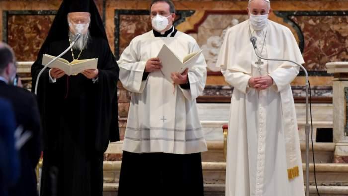Eveniment istoric. Liderii religioși ai lumii s-au rugat împreună pentru pace, la Roma