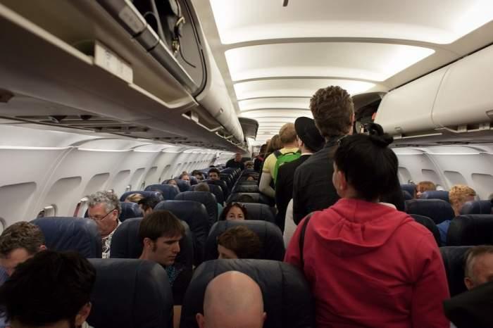 Bordul unui avion