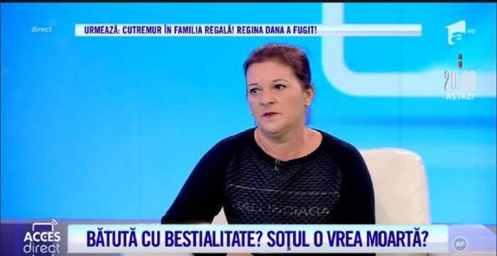 Elena Iordan este iin paltoul Acces Direct