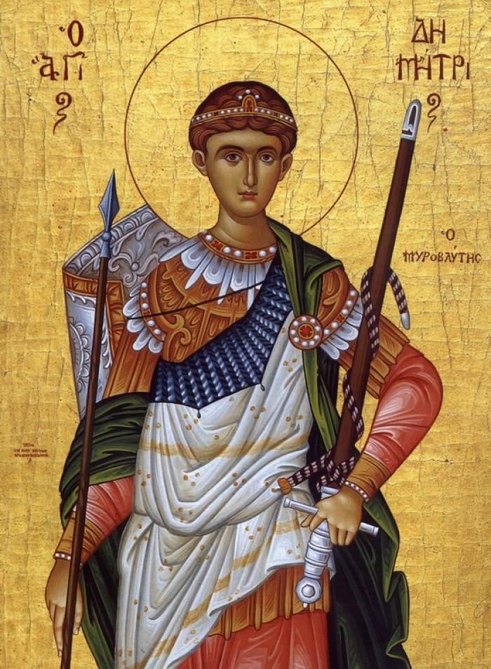 Viața Sf. Mare Mucenic Dimitrie Izvorâtorul de Mir din Tesalonic. Cine a fost El
