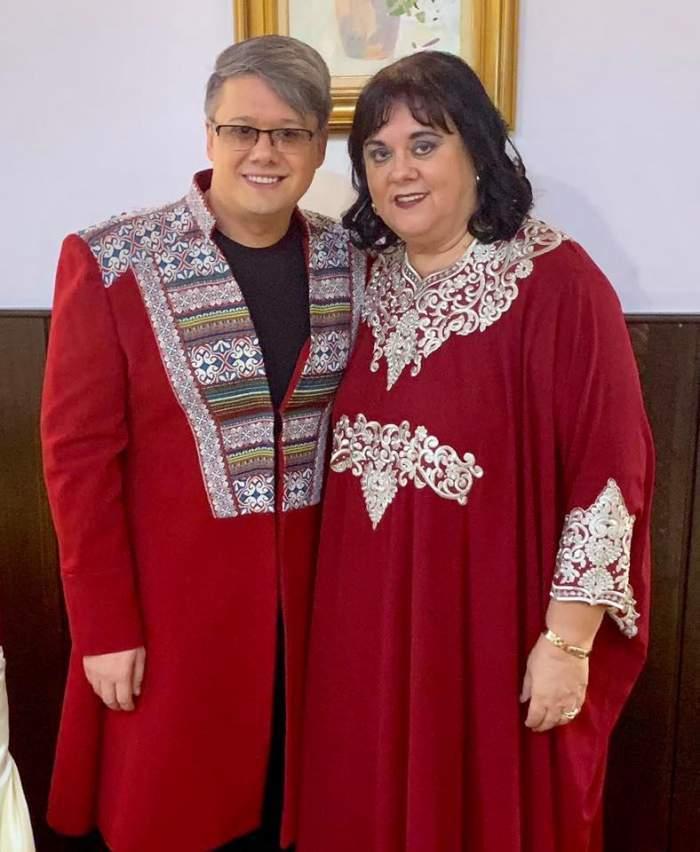 Fuego și Eugenia Surugiu s-au fotografiat împreună, îmbrăcați la fel