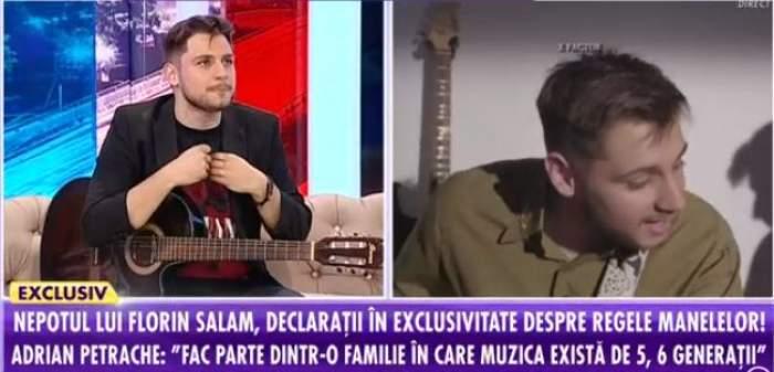 """Adrian Petrache, totul despre cariera sa, în platoul emisiunii """"Showbiz Report"""""""