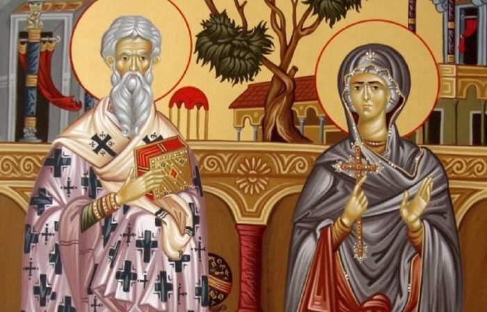 Imagine ilustrativa cu Sf Ciprian si Iustina