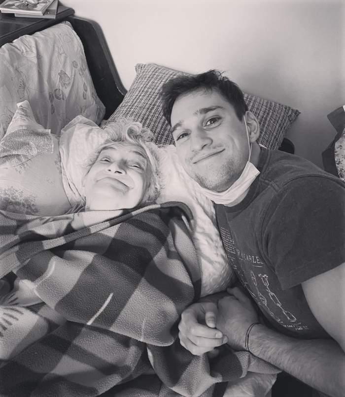 Vlad Gherman alături de bunica lui!