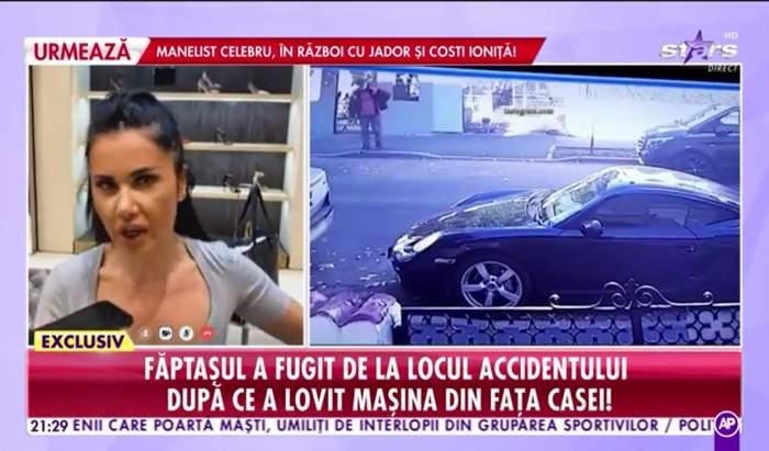 """Oana Zăvoranu, primele declarații, după ce i-a fost lovită mașina în parcare. """"Este vorba de tupeu, de indolență"""""""