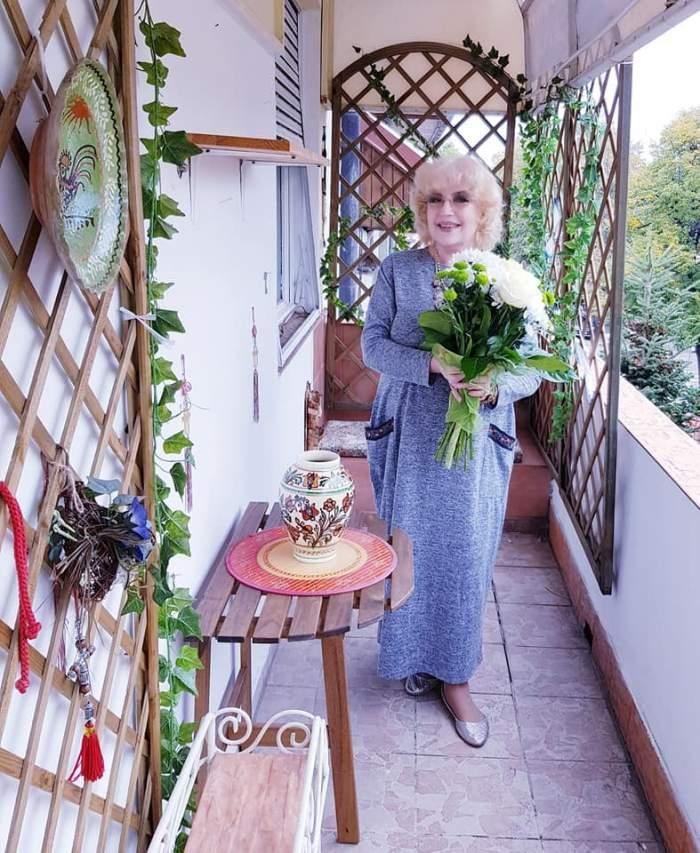 Corina Chiriac împlinește 71 de ani! Artista le-a arătat fanilor cum își sărbătorește ziua de naștere / FOTO
