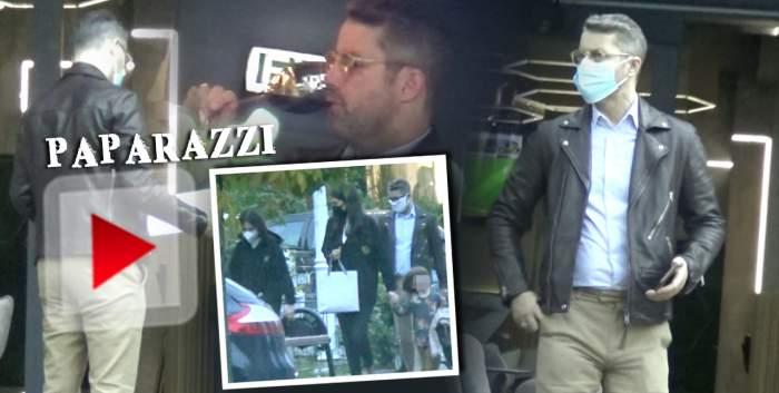 Imagini senzaționale cu Adrian Sînă, care a petrecut și apoi s-a urcat la volan! Cum a fost surprins artistul la restaurant cu familia / PAPARAZZI