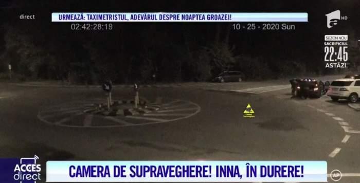 Acces Direct. Ce s-a întâmplat cu Inna, după ce ar fi leșinat în fața pădurii! Imagini bombă cu cei doi tineri care au luat-o cu mașina! / VIDEO
