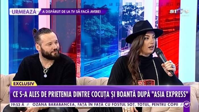 Bogdan Boanta si Cocuta sunt in platou la Showbiz Report