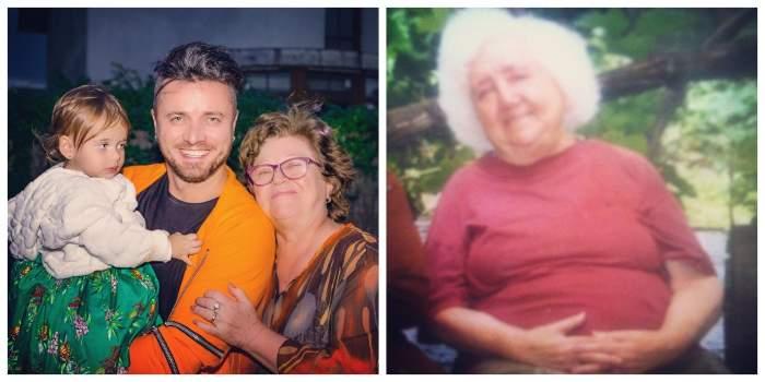 Colaj cu Tavi și bunica sa.