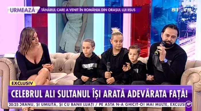 ali sultanul si copiii