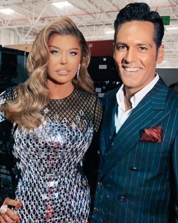 Loredana Groza și Ștefan Bănică la X Factor.