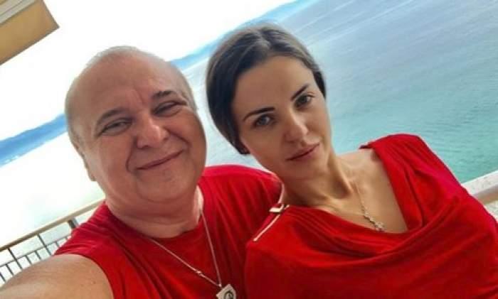 Nick Rădoi și Mădălina Apostol în roșu
