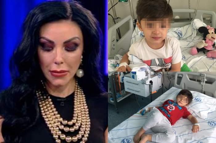 Copilul Andreei Podărescu în spital!