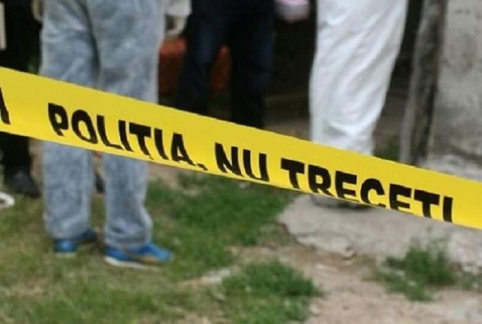 Imagine cu sigla poliției.
