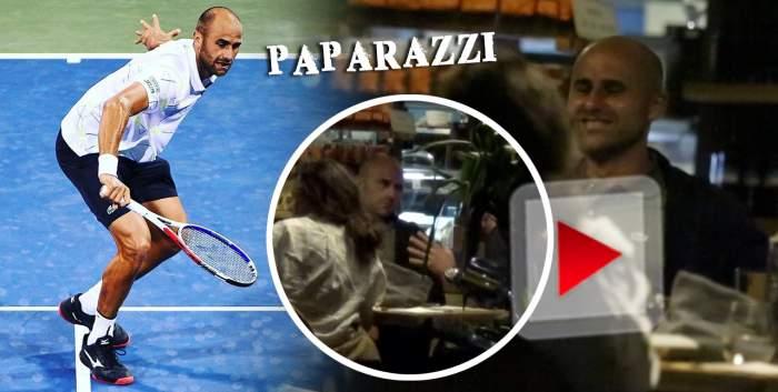 Marius Copil își face timp pentru tot! Ziua e pe teren, dar seara iese cu soția și prietenii! Cum a fost surprins tenismenul! / VIDEO PAPARAZZI