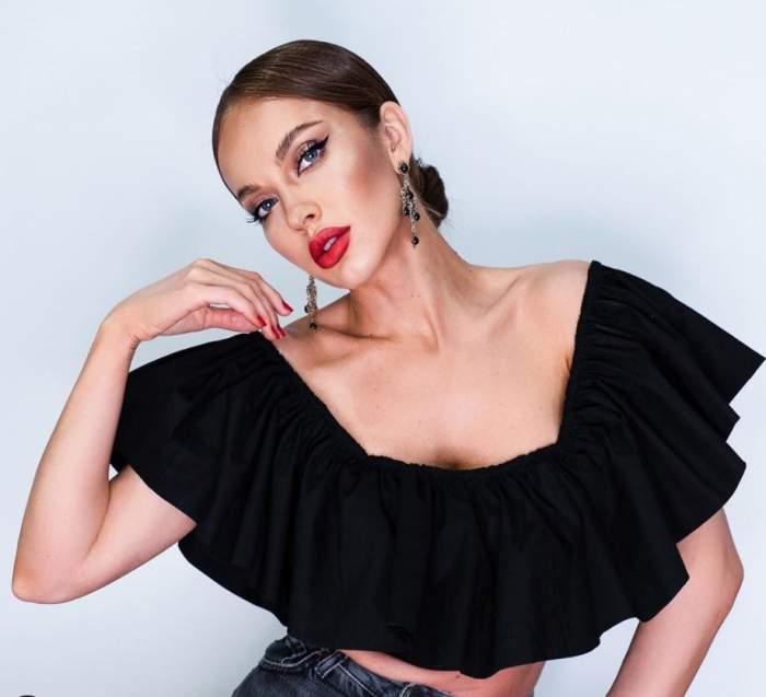 Monica Orlanda, schimbare radicală de look
