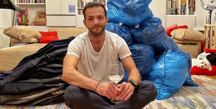 """Mihai Morar a slăbit 15 kg și donează un munte de haine: """"Am ce pune pe mine mâine dimineață"""""""