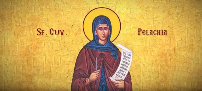 Icoana cu Sfânta Pelaghia