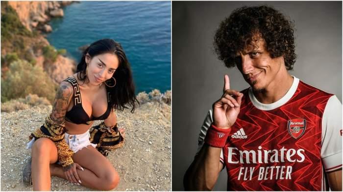 Rubyș și David Luiz.
