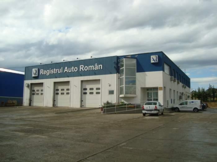 Fotografie cu clădirea Registrului Auto Român