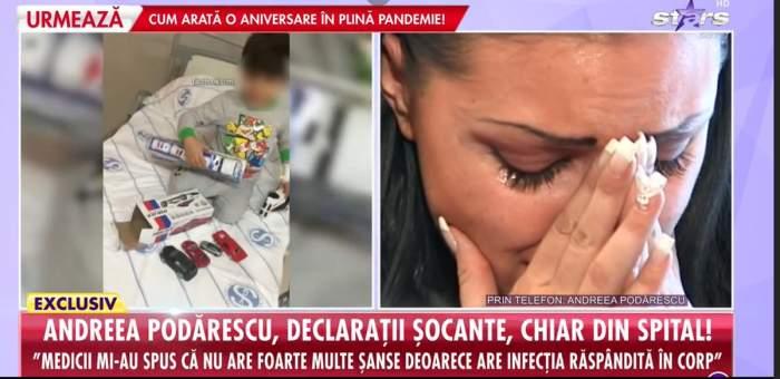 Cum se simte acum fiul Andreei Podărescu, după ce a fost suspect de leucemie! Medicii nu îi mai dădeau șanse la viață!