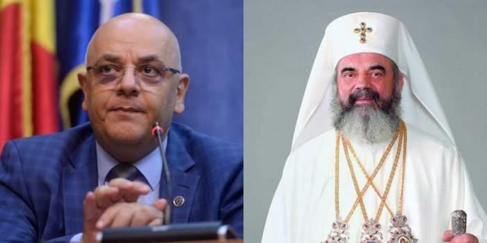 Raed Arafat și Patriarhul Daniel