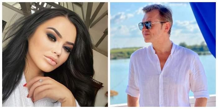 În prima imagine este Carmen de la Sălciua. Vedeta poartă un halat alb. În cealaltă poză este Puiu Codreanu. Artistul poartă ochelari de soare și o cămașă albă.