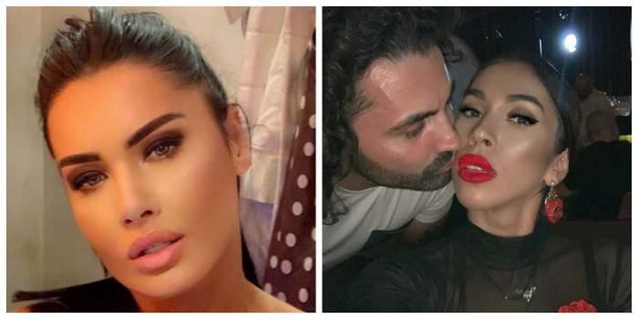 Un colaj cu Oana Zăvoranu, Pepe și Raluca. În prima poză, Oana are părul prins și gura întredeschisă, iar în cealaltă Pepe o sărută pe Raluca pe obraz.