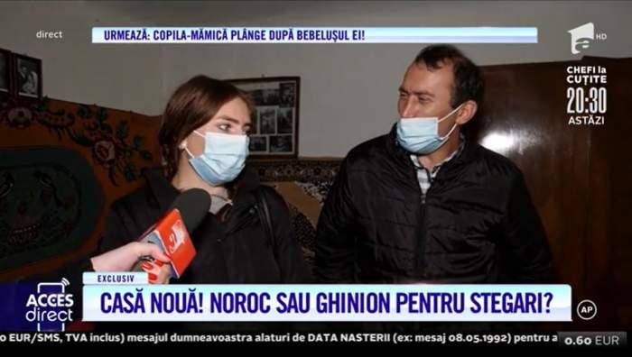 """Veronica și Viorel Stegaru au pășit pentru prima oară în noua lor casă! Soții din Blăgești au planuri mari pentru noul cămin: """"Sunt emoționată"""" / VIDEO"""