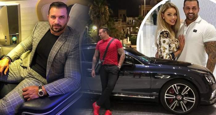Alex Bodi colaj cu mașina și Bianca Drăgușanu
