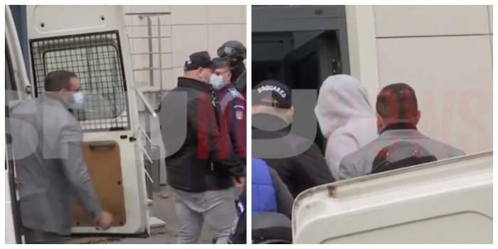 SUPEREXCLUSIVITATE. Imagini șocante cu Alex Bodi! A fost adus în cătușe la tribunal! / VIDEO