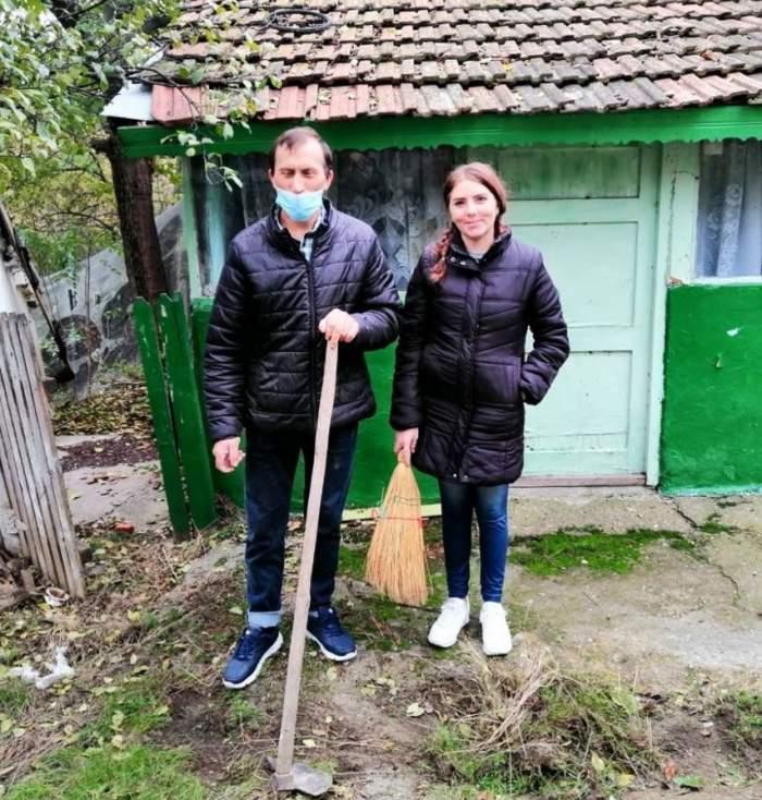 """Stegarii s-au pus pe treabă în noua casă! Cât au trudit Vulpița și Viorel pentru noul lor cuibușor: """"De la atâta muncă, mi s-a făcut foame"""" / VIDEO"""