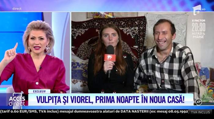 """Cum au petrecut soții Stegaru prima noapte în noua casă! Vulpița și Viorel au avut nevoie de Poliție pentru a dormi liniștiți: """"Am început să plâng"""" / VIDEO"""