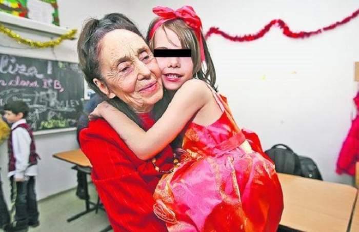 Adriana Iliescu și fiica sa!