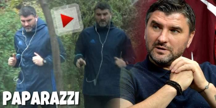 Adrian Mihalcea se menține în formă, chiar și pe timp de pandemie! Cum a fost surprins starul de la Dinamo, ziua în amiaza mare / PAPARAZZI