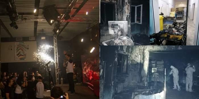 Colectiv si Piatra Neamț incendiu