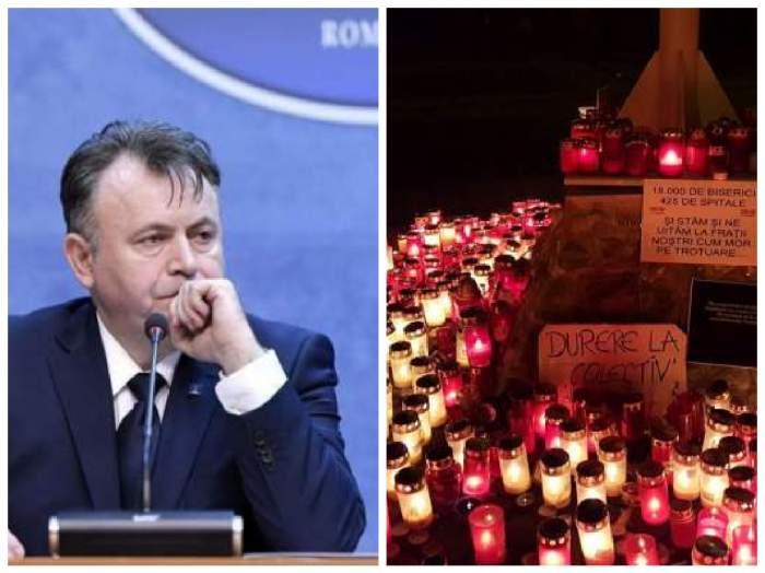 """Un supravieţuitor din Colectiv cere demisia lui Nelu Tătaru. Ce acuzații îi aduce ministrului: """"Aţi minţit"""""""