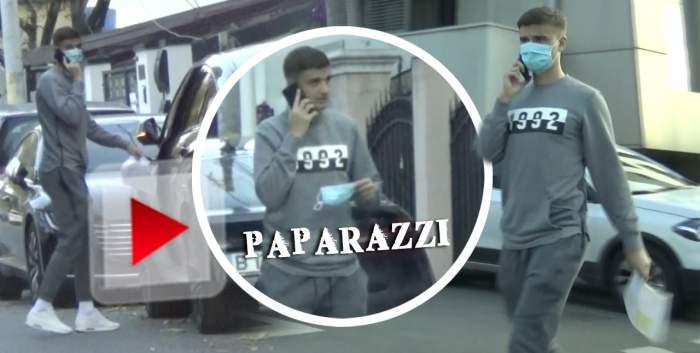 """""""Protejatul"""" lui Gigi Becali uită de lege când e în trafic! Ce a făcut Dragoș Nedelcu în timp ce se afla la volan / VIDEO PAPARAZZI"""