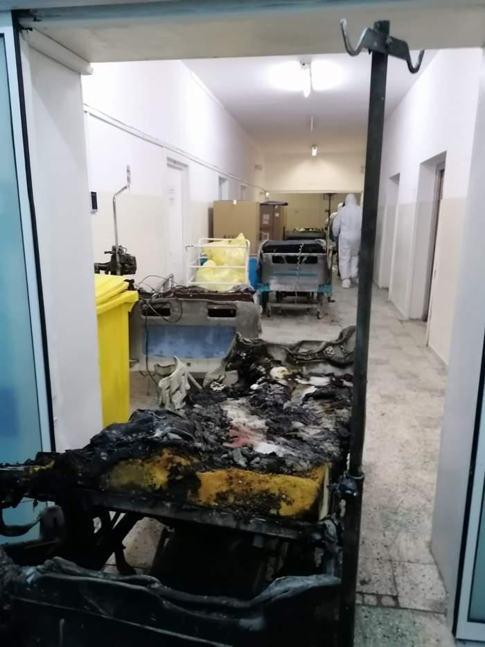Un pacient de pe secția de ATI a spitalului Piatra Neamț a murit! Bărbatulnu a avut legătură cu incendiul