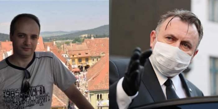 Cătălin Denciu și Ministrul Sănătății