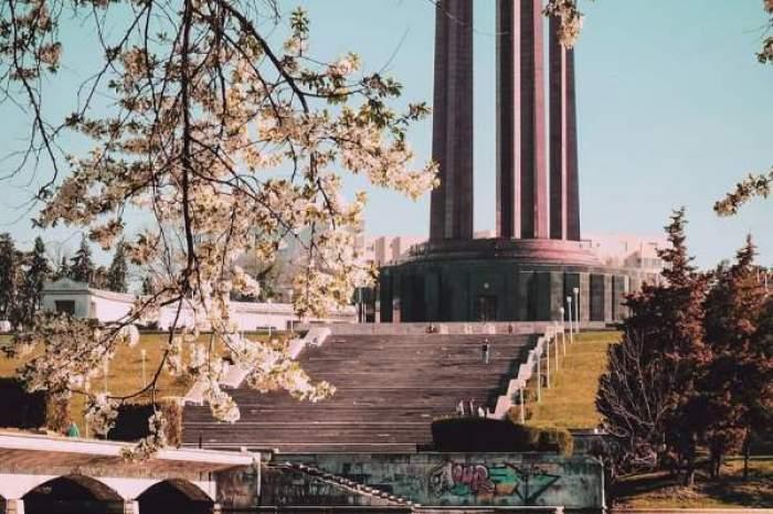Fotografie din parcul Carol din București