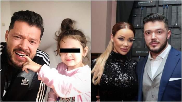 Colaj cu Victor Slav și fiica sa vs atunci când forma un cuplu cu Bianca!