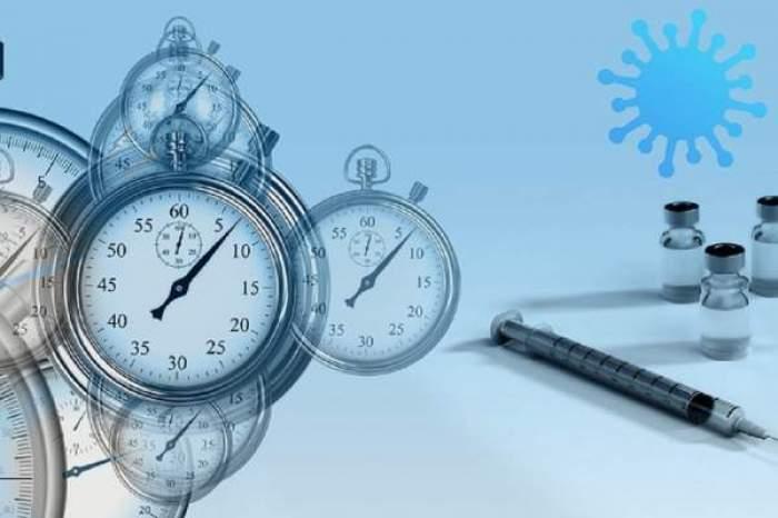Imagine cu ceasuri și vaccinuri