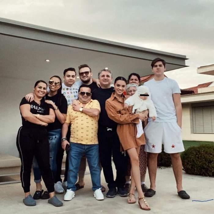 Familia lui Adrian Minune.