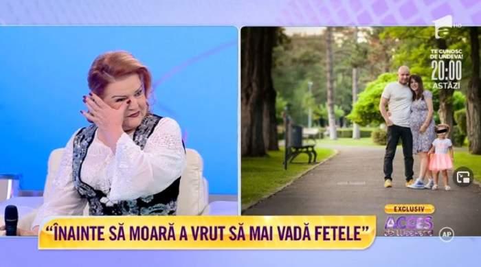"""Maria Cârneci, în lacrimi după moartea soțului! Care a fost ultima dorință a lui Giani: """"I-am făcut parastasul de un an"""" / VIDEO"""