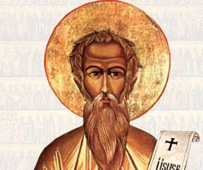 O icoană cu Sfântul Antonie de la Iezeru Vâlcea